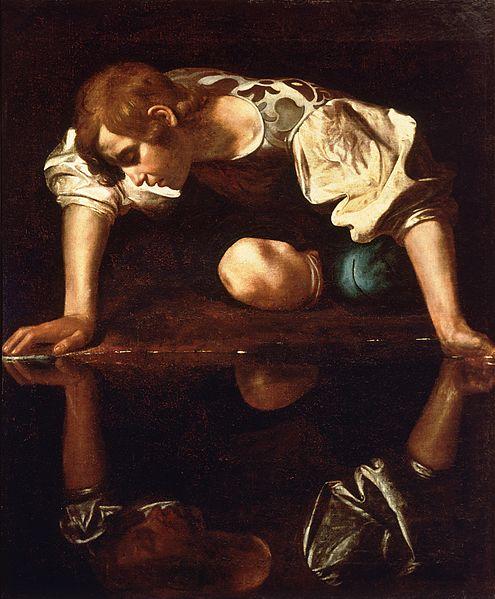 Narcissus Caravaggio (1594-96)