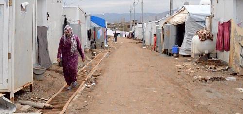 Flyktingläger 2 foto Delvin Arsan
